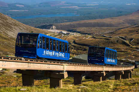 CairnGorm Mountain - Two adult tickets for the CairnGorm Mountain Funicular Railway - Save 58%