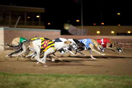 Love The Dogs - Greyhound Racing Entry with Refreshments for Two - Save 74%