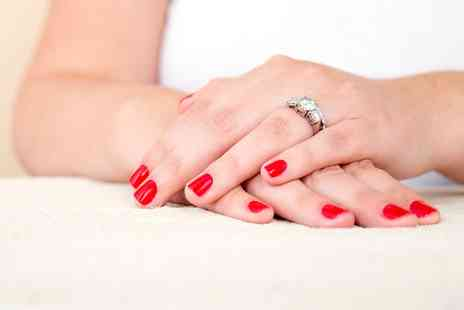 Carolines Hair, Nail & Beauty Salon - Shellac Manicure or Pedicure or Both - Save 64%