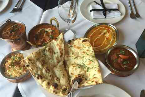 Shimla Pinks Leicester - A La Carte Three Course Indian Meal with Sides for Two or Four  - Save 49%
