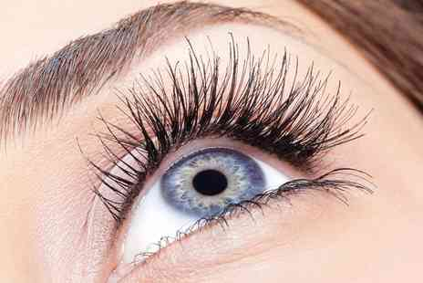 Boutique and Tanning - Full Set of Natural Eyelash Extensions - Save 64%