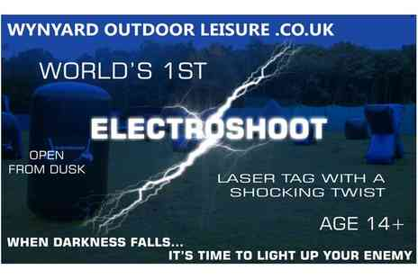 Wynyard Outdoor Leisure - One Hour Electroshoot Game for Two, Four, Six or Ten  - Save 60%