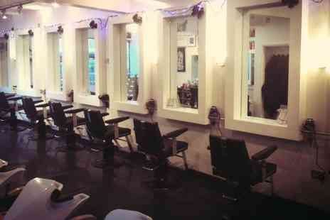 Jam Hairdressing - Ladies Cut and Finish with Optional Colour Highlights Treatment - Save 47%