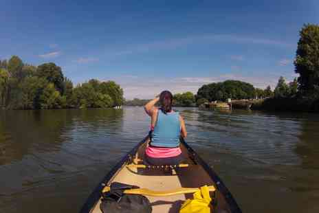 Back of Beyond Adventures - 180 minute circular Eel Pie Island canoe trip for two - Save 48%
