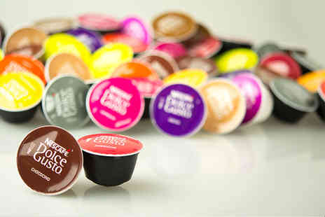 The Coffee Market - Mixed pack of 51 Dolce Gusto loose blend pods - Save 63%
