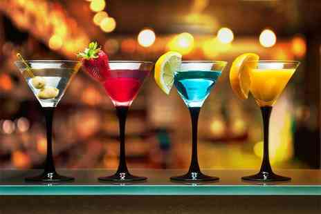 Dice Bar - One hour cocktail masterclass including two drinks and nibbles for one - Save 64%