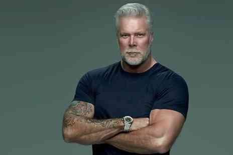 HS Presents - Choice of Ticket to An Audience with WWE Kevin Nash, John Fretwell Sports Complex, 11 September - Save 0%