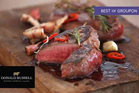 Donald Russell - £50 Towards Full Product Range with Award Winning Butcher - Save 50%