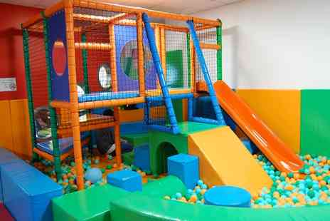 Party Planet Play Cafe - Soft Play Entry and Meals for Two Children - Save 0%