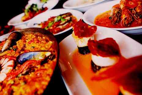 Barca Tapas - Choice of Paella with Wine for Two or Four People - Save 50%