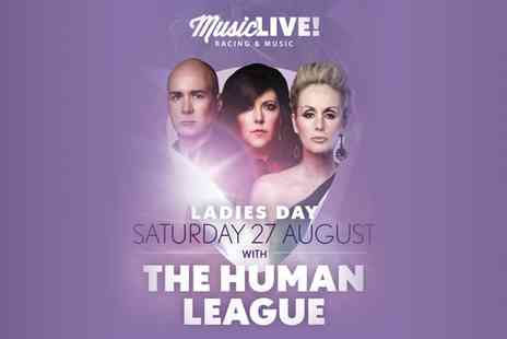 Human League Live - The Human League at Royal Windsor Racecourse, 27 August 2016 - Save 0%