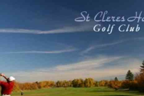St Cleres Hall Golf Club - Two Rounds of Golf For Two Plus Refreshments - Save 83%