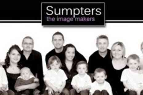 Sumpters The Imagemakers - Group Photo Shoot With Two Prints, Digital Upload and Two Hour Private Viewing - Save 89%