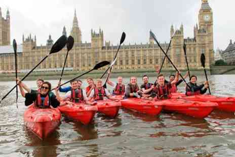 Kayaking Experience - Big Ben and Back Thames Kayaking Experience for Two - Save 0%