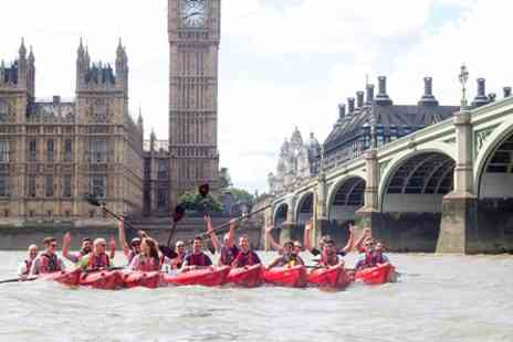 Kayaking Experience - Discover London Thames Kayaking Experience for Two - Save 0%