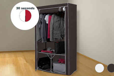 Ricomex - Fast Build Canvas Wardrobe Two Colours - Save 0%
