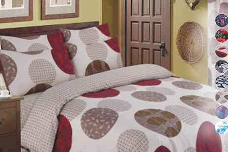 Rynz Collection - Four Piece Printed Bedding Set - Save 33%