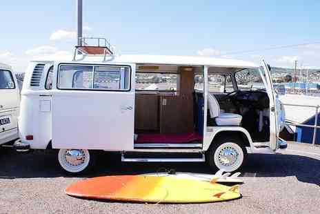 VDubAndAway - Three night weekend VW campervan hire for up to four or four night midweek hire - Save 58%