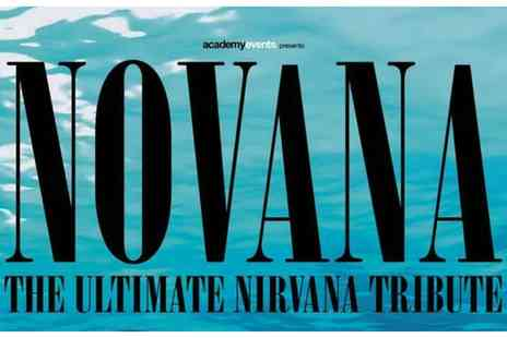 Academy Music Group - Ticket to See Novana, The Ultimate Nirvana Tribute on 21 May to 3 June - Save 0%