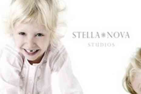 Stella Nova Photography - Professional photo-shoot including 5 prints - Save 79%