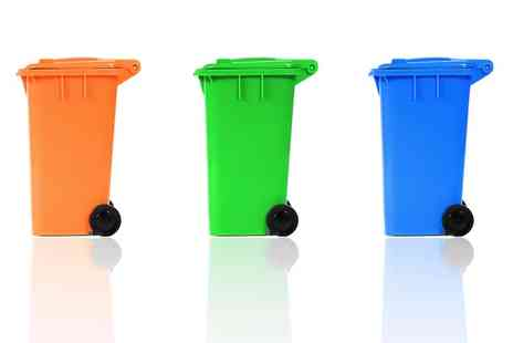 London Bin Hygiene - Up to 12 Monthly Wheelie Bin Cleaning Services for One or Two Bins - Save 11%