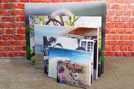 Your Perfect Canvas - Custom Photo Canvas  - Save 76%