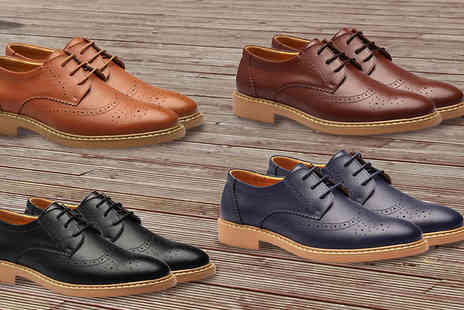 Gagala - Mens Oxford Brogues Four Colours - Save 0%