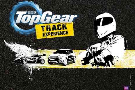 Top Gear Track Experience - BBC Top Gear Hot Lap with The Stig and off roading experience - Save 0%
