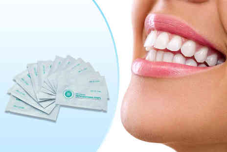 Smile Science - Two week supply of whitening strips - Save 66%