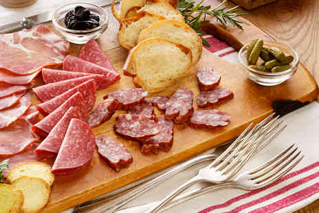 Mirabell - Charcuterie board and a bottle of wine for two - Save 51%