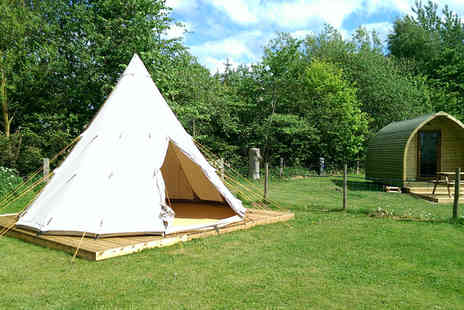 Yapham Holds Farmhouse - Two night glamping experience in the Yorkshire Wolds for two  - Save 51%