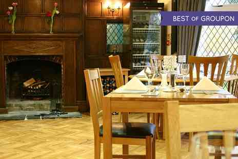 Priory Court Hotel - Two Course Meal for Two or Four - Save 30%