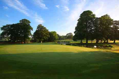 Mottram Hall - 18 Holes of Golf and a Titleist Golf Sleeve for Two or Four - Save 0%