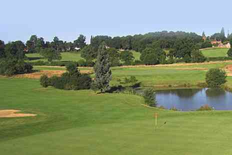 Blue Mountain Golf - 18 Holes of Golf with Range Balls for Two or Four - Save 41%