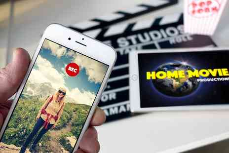 Dynamic E Course - Online Home Movie Making Course Using Smartphone or Tablet or Video Camera - Save 94%