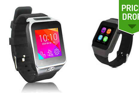 Loco Gadgets - Smartwatch with Integrated Camera and SIM - Save 80%