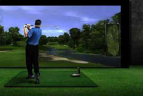 Affordable Golf - Private indoor PGA golf lesson - Save 40%