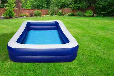 Boyz Toys - Eight person family paddling pool - Save 58%
