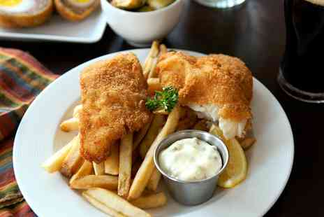 The Wheatsheaf - Fish and Chips With Drink For One or Two - Save 50%