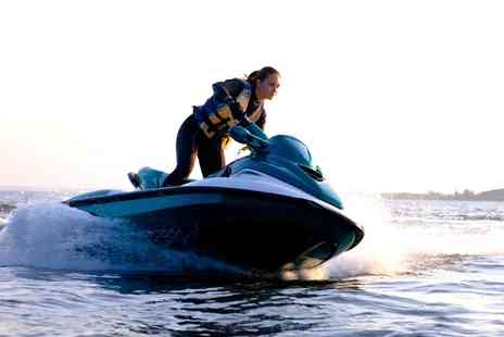 Jetski Safaris - Jet Ski and Inflatable Fun Ride for One or Two - Save 51%