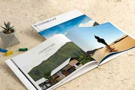 Photobook - 40 page Personalised Imagewrap Hardcover Photobook - Save 82%