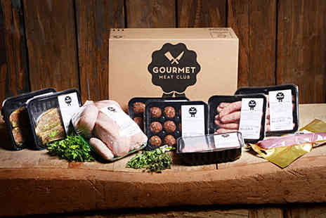 Gourmet Meat Club - Medium or Large gourmet meat box - Save 37%