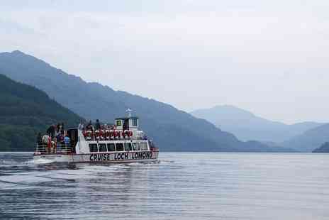 Cruise Loch Lomond - One Hour Loch Lomond Cruise for One, Two or a Family of Four - Save 47%