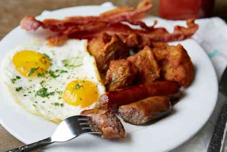 Tables Cafe Grill & Bar - Choice of English Breakfast with Hot or Cold Drink for Two or Four - Save 44%