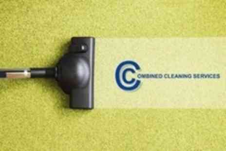 Combined Cleaning Services - Carpet Cleaning For Two Rooms and Hallway - Save 60%