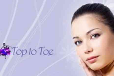 Top to Toe - Three Microdermabrasion Sessions - Save 65%