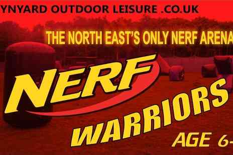 Wynyard Outdoor Leisure - One hour Nerf warriors game for two - Save 60%