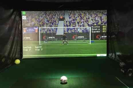 Walshys Sports Pad - One or Two Hour Multi Sports Simulator Hire for Up to Six - Save 50%