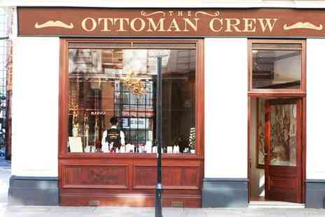 The Ottoman Crew - Mens Cut, Wash and Restyle with Eyebrow Trimming and Ear Flaming - Save 40%