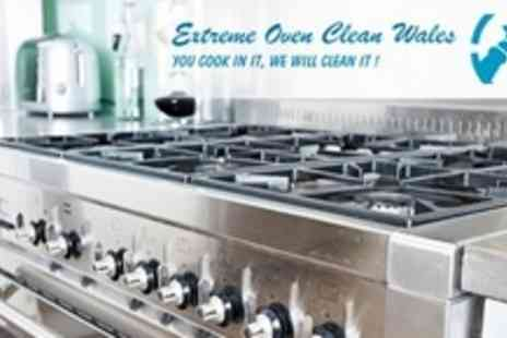 Extreme Oven Clean Wales - Full Oven and Hob Clean - Save 59%